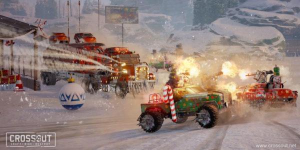 """Crossout fête Noël avec """" Snowstorm """""""