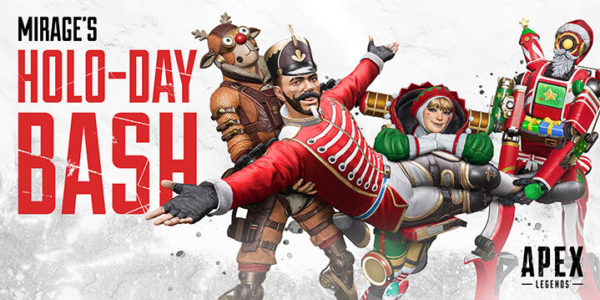 Apex Legends Noël 2019 Holo-Day Bash