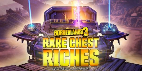 Borderlands 3 – Obtenez du meilleur butin pendant le mini-événement « Coffres rares garnis »