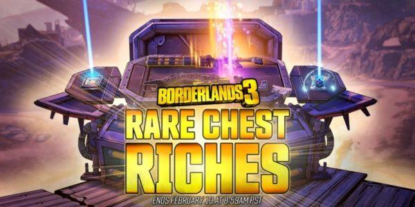 Borderlands 3 - Mini-événement Coffres rares garni