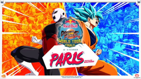 Red Bull Dragon Ball FighterZ Finale Paris