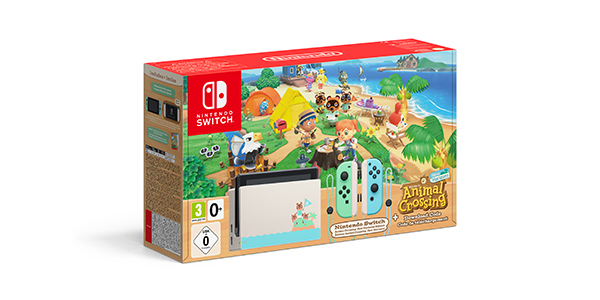 Nintendo Switch ÉDITION ANIMAL CROSSING NEW HORIZONS