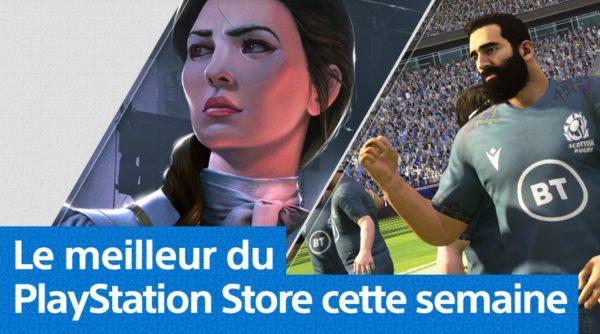 PlayStation Store PS Store - Mise à jour du 20 janvier 2020