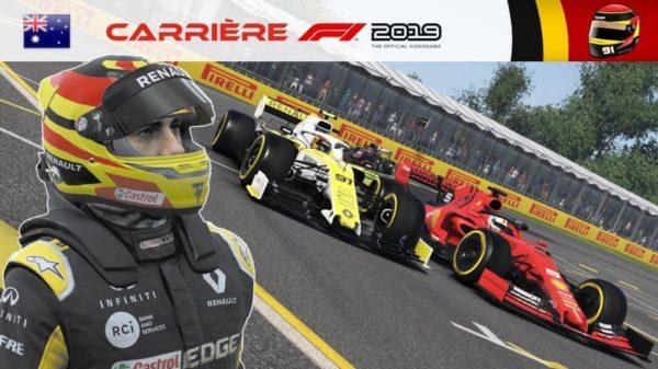 F1 2019 - Carrière S2 #23 : LE LOUP dans la bergerie...