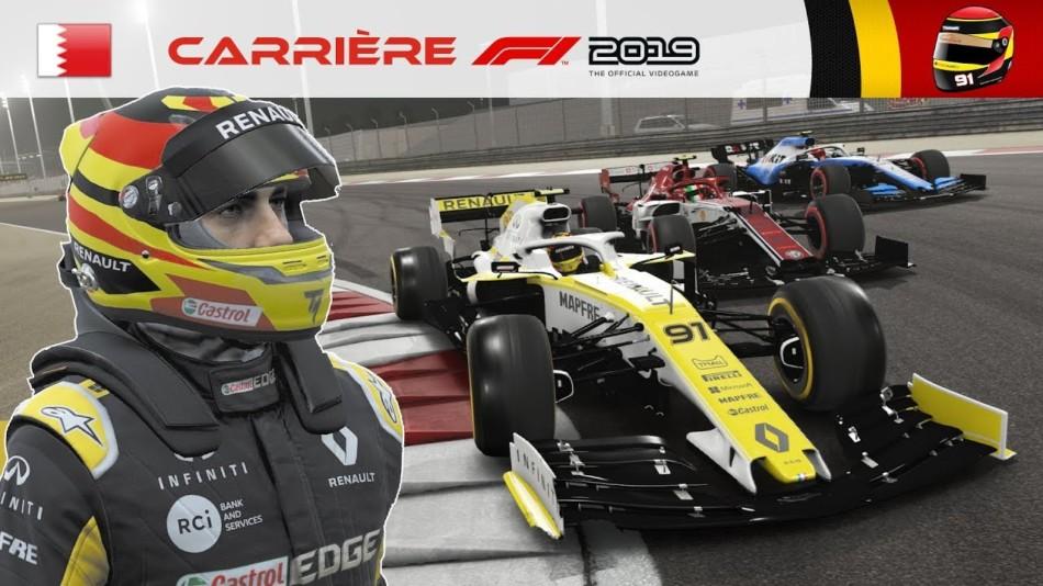 F1 2019 - Carrière S2 #24 : Du bout des doigts...