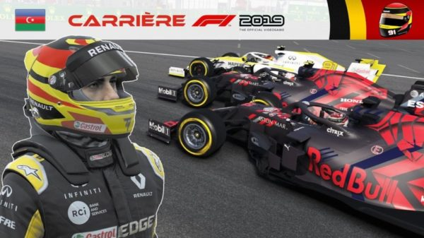 F1 2019 - Carrière S2 #26 : Les Red Bull me donnent des ailes !