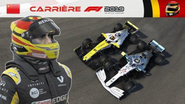 F1 2019 - Carrière S2 #25 : Un ERS en Or massif !