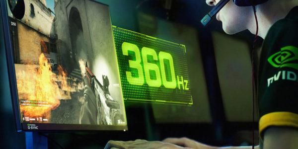 CES 2020 - NVIDIA G-SYNC 360 Hz