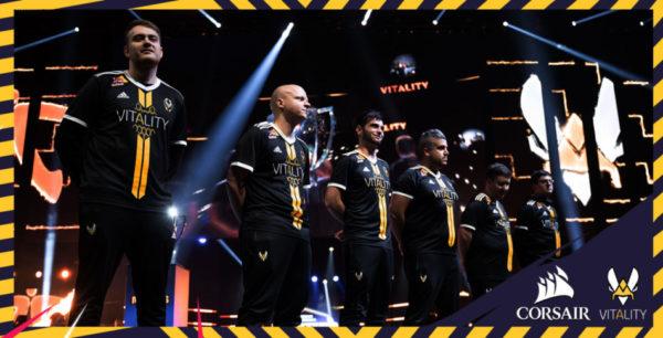 Team Vitality et Corsair dévoilent un partenariat pluriannuel