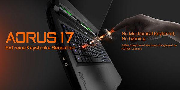 Aorus 17 Keyboard OMRON