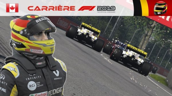 F1 2019 - Carrière S2 #29 : UNE CLAQUE !