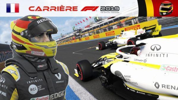 F1 2019 - Carrière S2 #30 : UN ÉCLAIR DE LUCIDITÉ ...