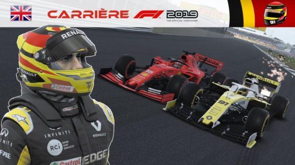F1 2019 – Carrière S2 #32 : Toucher la limite avec Ferrari !