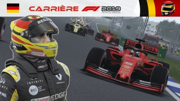 F1 2019 - Carrière S2 #33 : Dive bomb dans le stadium