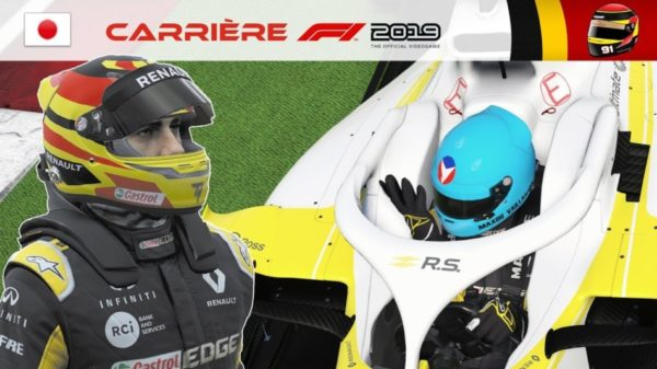 F1 2019 - Carrière S2 #39 : Racing Point, surprise de fin de saison ?