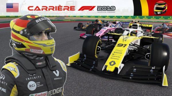 F1 2019 - Carrière S2 #41 : Perez me fais ENCORE perdre patience !