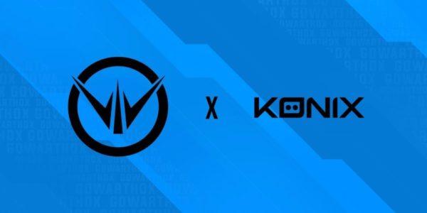 KONIX officialise un partenariat avec Warthox