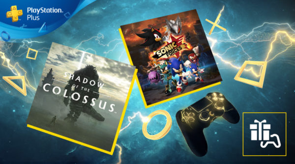 Shadow of the Colossus et Sonic Forces rejoignent le PS Plus