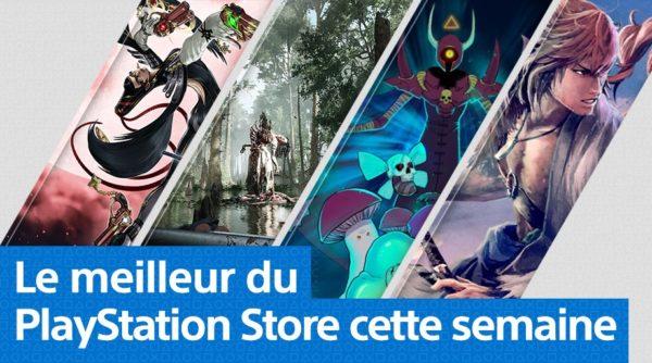 Mise à jour du PlayStation Store du 17 février
