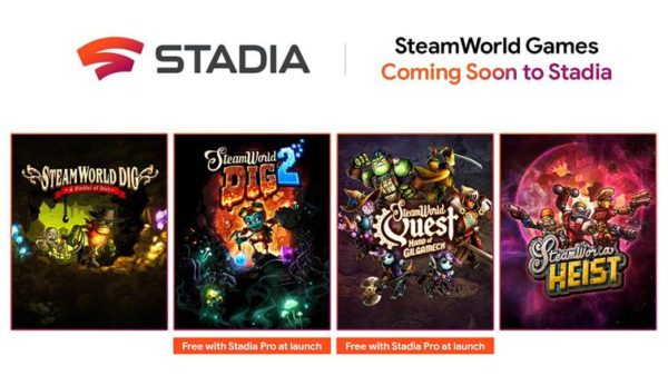 Google Stadia x Steamworld