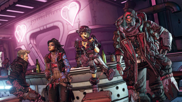 Borderlands 3 saint valentin