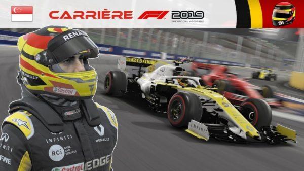 F1 2019 – Carrière S2 #37 : Et c'est le déluge !