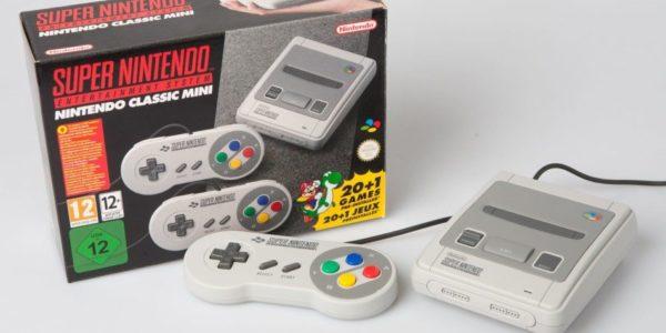 Nintendo Super NES Classic Mini - consoles rétro