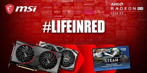 MSI Life in Red
