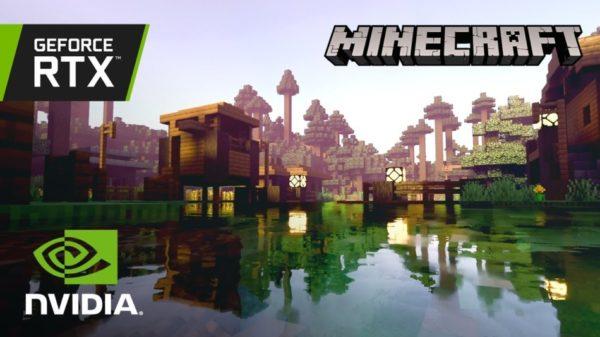 Minecraft x NVIDIA RTX Minecraft avec RTX