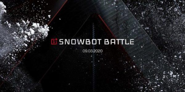 OnePlus bataille de boules de neige 5G Elisa