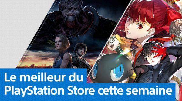 Playstation Store PS Store - Mise à jour du 30 mars 2020