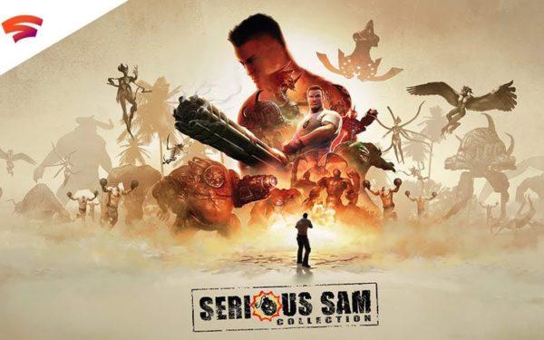 Serious Sam Collection x Google Stadia