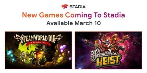 Google Stadia 10 mars