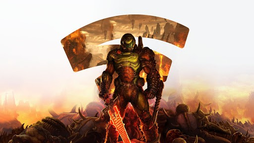 DOOM Eternal on Google Stadia
