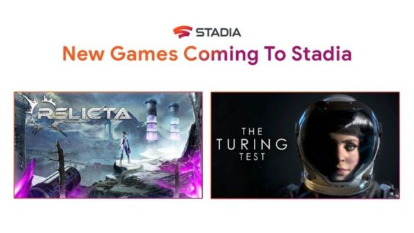 Relicta x The Turing Test : Google Stadia