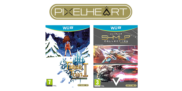 PixelHeart Wii U - Finding Teddy 2 et SHMUP Collection