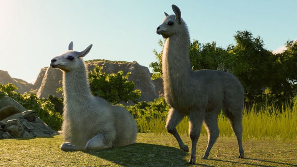 Planet Zoo - pack Amérique du Sud