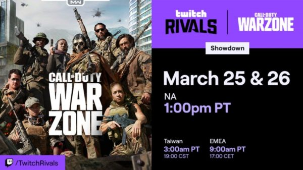 Call of Duty: Warzone Call of Duty : Warzone x Twitch Rivals Showdown