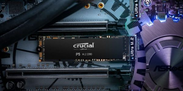 SSD NVMe Crucial SSD P5
