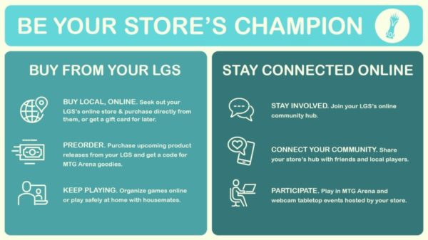Magic: The Gathering - Be Your Store's Champion