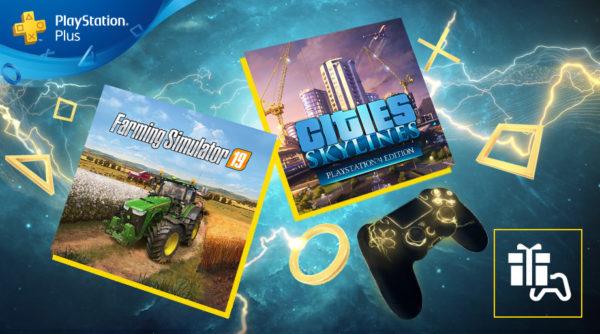 PS Plus Playstation Plus - Jeux de mai 2020