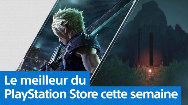 PS Store PlayStation Store - Mise à jour du 6 avril