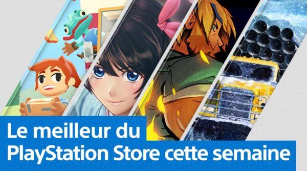 PS Store - Mise à jour du Playstation Store du 27 avril 2020