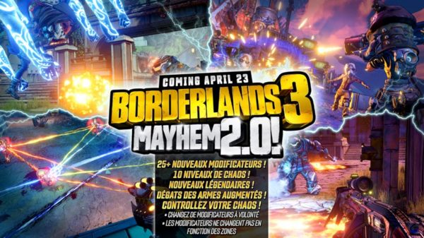 Borderlands 3 - mode Chaos 2.0