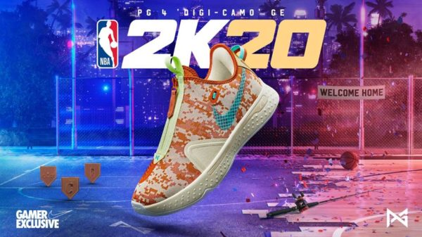 NBA 2K20 x PG 4 'Digi-Camo' GE