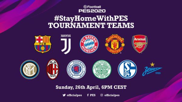 StayHomeWithPES eFootball PES 2020 #StayHomeWithPES