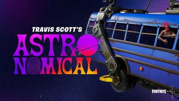Fortnite et Travis Scott présentent : Astronomical