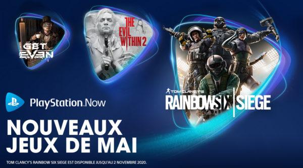 Les jeux PS Now de mai 2020