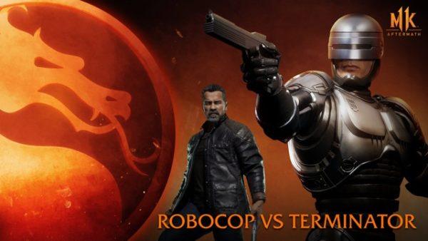 Mortal Kombat 11 : Aftermath – RoboCop versus Terminator