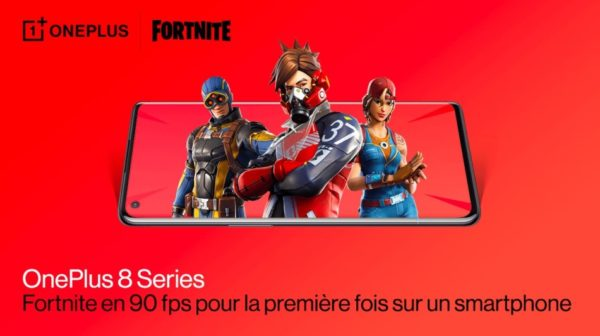 OnePlus 8 X Epic Games Fortnite